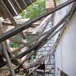 Remains of a house after an earthquake — Stock Photo #18601245