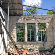 Remains of a house after an earthquake — Stock Photo #18601331