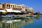 Old city of Rethymno at Crete, Greece — Stock Photo