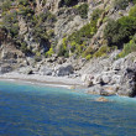 Beautiful beach in Kefalonia island, Greece — Stock Photo