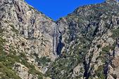 Beautiful waterfall on mount Athos, Greece — Stock Photo