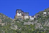 Monastery of Simonos Petra at Mount Athos in Greece — Stock Photo