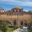 Byzantine orthodox church of God's holy Sophia at Thessaloniki, - Stock Photo