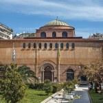 Byzantine orthodox church of God's holy Sophia at Thessaloniki, — Zdjęcie stockowe #23391532