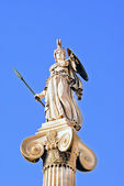 Athena statue in the Academy of Athens ,Greece — Stock Photo
