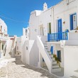 Traditional greek house on Sifnos island, Greece — Stock Photo #27324579