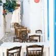Traditional greek alley on Sifnos island, Greece — Stock Photo #28247883