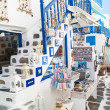 Detail image from a greek touristic shop on Mykonos island, Gree — Stock Photo #28249877