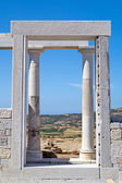 Temple of Demeter, Naxos island, Greece — Стоковое фото