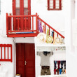 Traditional greek house on Mykonos island, Greece — Stock Photo