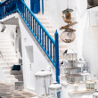 Detail image from a greek touristic shop on Mykonos island, Gree — Stock Photo #29598107
