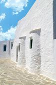традиционный греческий дом на острове сифнос, греция — Стоковое фото