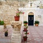 Courtyard of Orthodox Monastery, Jerusalem, Israel — Stock Photo #29785093