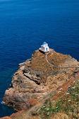 церковь семи мучеников на острове сифнос, киклады — Стоковое фото