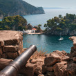 Panagia isle at Parga near Syvota in Greece. Ionian sea — Stock Photo