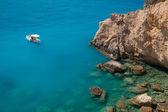 Porto Katsiki beach at Lefkada island, Greece — Stock Photo