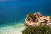Porto katsiki strand van lefkada eiland, griekenland — Stockfoto