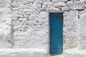 Gamla kyrkan panagia paraportiani på mykonos ö i grekland — Stockfoto