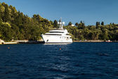 остров скорпиос в греции nidri лефкада — Стоковое фото
