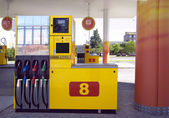 Station for refuelling — Stock Photo