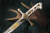 Ancient sabre — Stock Photo