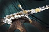Ancient sabre — Stock Photo