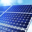 Alternative solar energy - Stock Photo