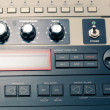 Professional audio equipment detail — Stock Photo