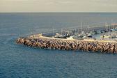 Část lodí vyvazovací — Stock fotografie