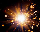 Sparkler festivo — Foto Stock
