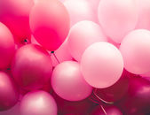Pink ballons background — Stock Photo