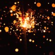Christmas sparkler — Stock Photo #13267992