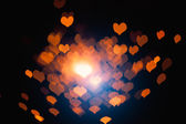 Abstract hearts particles — Stock Photo