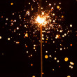 Christmas sparkler — Stock Photo #13843563