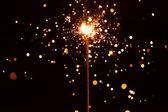 Cierge magique de noël — Photo