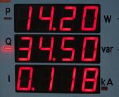Electricity meter — Stock Photo