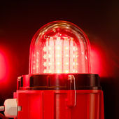 Lámpara de señal led — Foto de Stock