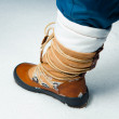 Winter shoe in snow — Stock Photo