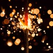 Christmas sparkler — Stock Photo #14734111