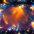Stock Photo: Abstract lights frame