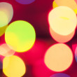 Stock Photo: Background with bokeh lights