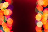 Background with bokeh lights — Zdjęcie stockowe