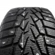 Stock Photo: Winter tire with snow spikes and protector