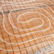 Stock Photo: Water floor heating