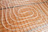 水の床暖房 — ストック写真