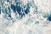 Foamy water background — Stock Photo