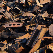 Scrap metal, close-up view — Stock Photo