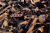 Scrap metal, close-up view — Stock Photo