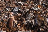 Scrap metal background — Stock Photo
