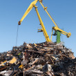 Stock Photo: Scrap metal loading